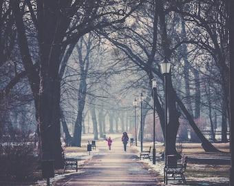 Ladies walk, Poland - Digital fine art photography print