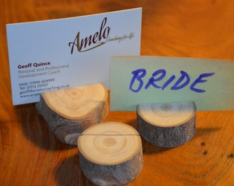 Place card holders (x3)