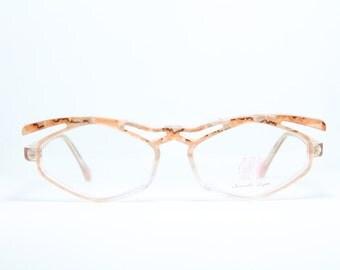 NOUVELLE LIGNE Vintage Extravagant Eyeglasses Lunettes Occhiali Gafas SWING 10 Frame Germany