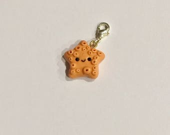 kawaii starfish charm
