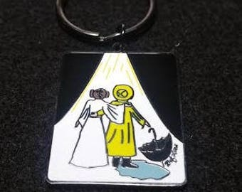 Mother & Daughter Forever! Key Chain