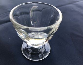 Clear Glass Eye Wash Cup