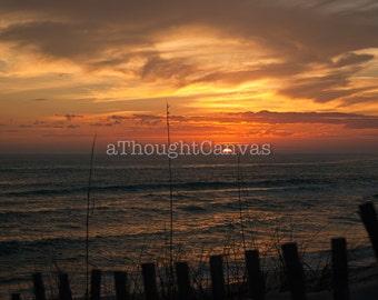 Sunset on Seaside