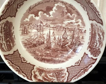Fair Winds - Alfred Meakin Punch Bowl