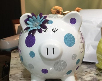 Personalized Piggy Bank-Large