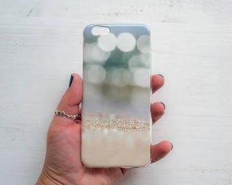Sand iPhone 6 case Soft silicone Quote iPhone case Pastel iPhone case Gift for her iPhone 5 case Romantic gift Birthday gift for her wife