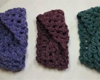 Thick Crocheted Headband
