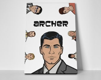 Archer Poster Limited Edition 24x36 Poster | Archer Canvas
