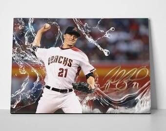 Zach Grienke Poster Limited Edition 24x36 Poster | Zach Grienke Canvas