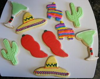 Cinco de Mayo Fiesta cookies