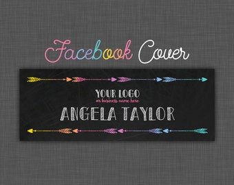 Facebook Cover Lularoe - Black Lularoe - Facebook Cover - Personalized - Chalkboard