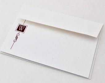 Monogram Notecard Set of 8