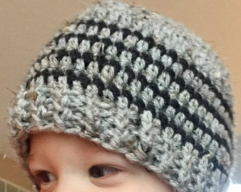 Striped Beanie (Infant - Adult Sizes)