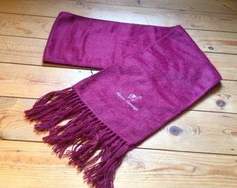 warm indigenous alpacca tassel scarf