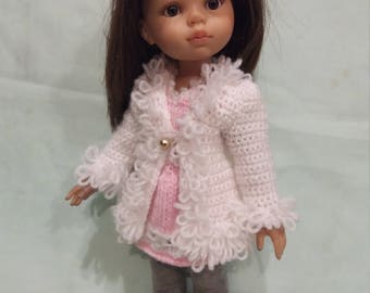 Coat  for doll Paola Reina