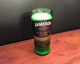 Jameson Candle Irish Whiskey Black Label Reserve Bottle Soy Candle. Made To Order !!!!!!! 750ML