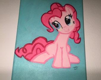 My Little Pony - Pinkie Pie acrylic painting