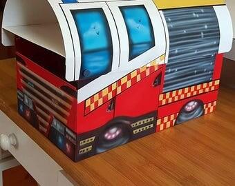 Australian Fire Engine Mailbox