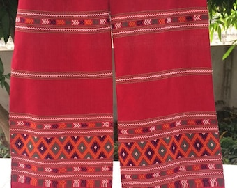 Scarf Phu Thai handmade very nice pattern cotton 100%
