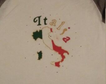 Italia Womens Painted Shirt