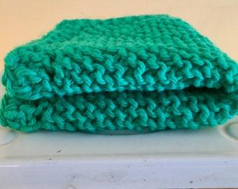 Hand-Knit Dishcloth