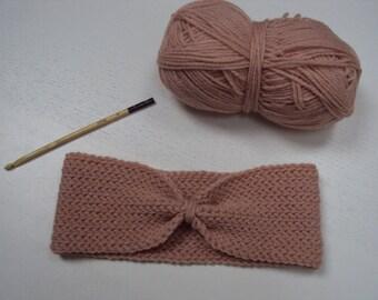 headband / pale pink headband