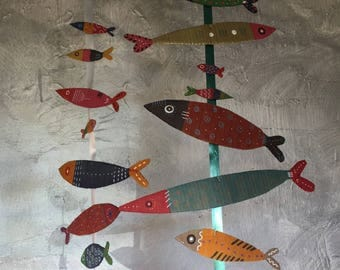 Fishes Recycled Cardboard