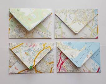 Road Map Envelopes
