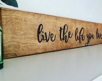 Wood sign quotes Etsy