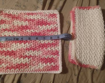 Cotton washcloth Set of 2