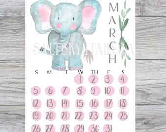 March Kids Calendar