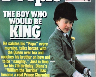 People Magazine June 26, 1989 The Boy Who Would be King