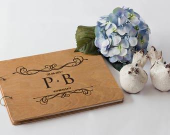 Wedding Guest Book, Engraved Wedding Guest Book, Custom Wedding Guest Book, Wedding Guest Book Ideas, Rustic Wedding Guest Book