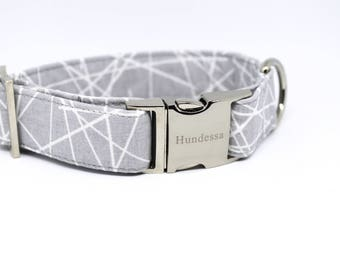 STONE dog collar
