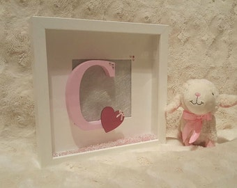 Baby Girl Box Frame