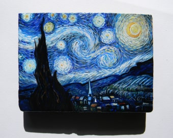 V. van Gogh - The starry night, hand painted