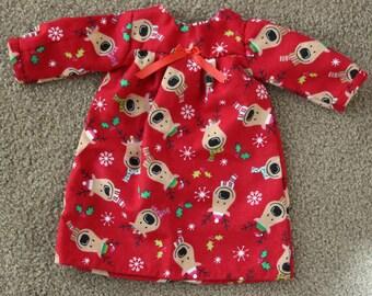 Reindeer Nightgown