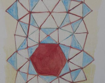 Download art and print, digital art abstract geometry.