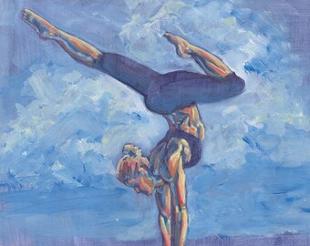Inspirational Yoga Painting