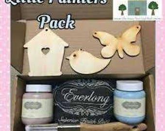 Everlong Superior Chalk Paint Little Painters pack