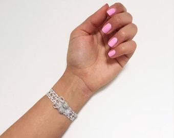 Moroccan Bracelet, Moroccan Jewelry, Boho Cuff, Gypsy vibes, Boho Jewelry, Coachella Vibes - Free US Shipping