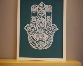 Hand of Fatima, Hamsa