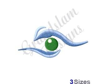 Human Eye - Machine Embroidery Design