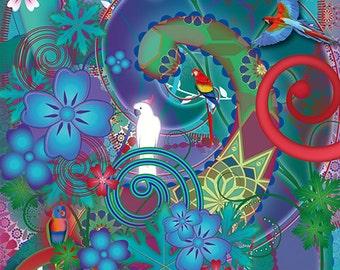 Magical card: Colorfull Birdconsciousness