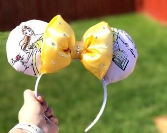 Beauty Inspired Mickey Ears
