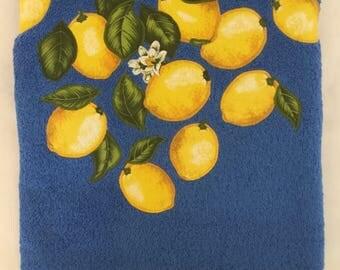 Beach towel with Lemons