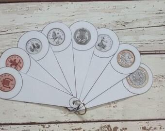 Coin fan, money fan, teach money, teaching resource for classroom, EYFS SEN, identify coins, reception class