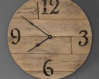 Nice 16''  wooden clock