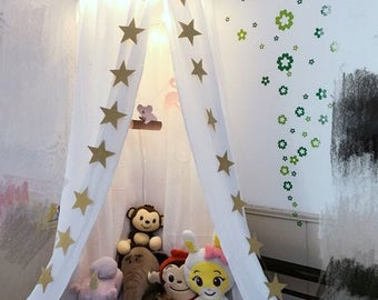 white canopy| home decor | kids canopy | nursery decor | bedding canopy | play room canopy | kids play canopies
