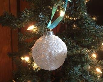 Snowball Ornament